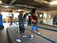 Personal/boxing training
