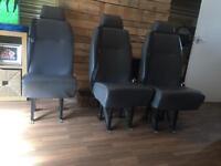 2 ford transit seats