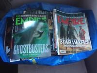Empire magazines,total film magazines x 200