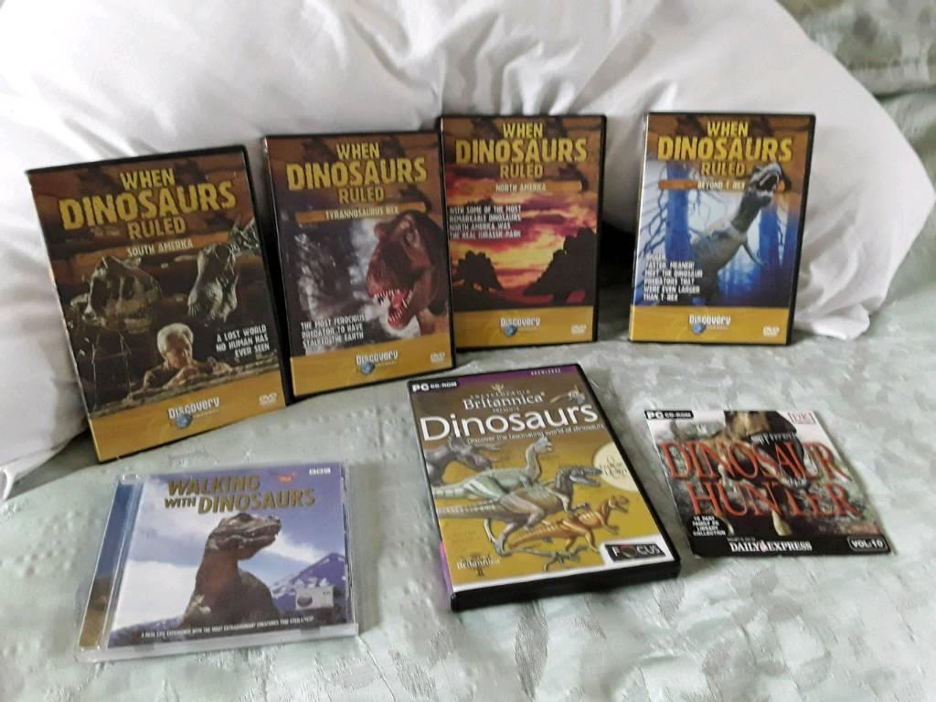 Dinosaur DVD's