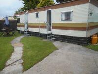 6 berth static caravan for sale. THIS CARAVAN IS NOT ON A SITE.