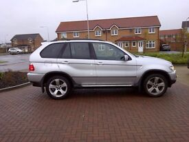BMW X5 3.0d SPORT EXCLUSIVE EXCELLENT CONDITION (OWNED FOR 8 YEARS) FSH SATNAV TV (CHEAP PX WELCOME)