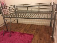 Children's Midsleeper Bunk Bed - excellent condition, collection only