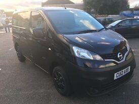 2012 Nissan NV200 N-TEC Dci, Black, 1461cc, Diesel, Long MOT, Bluetooth, Rear Camera View, Satnav