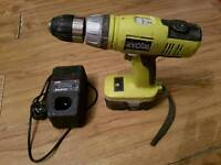 RYOBI DRIVER / DRILL CORDLESS working condition