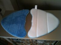 2 x THICK MICRO FIBRE CLEANING PADS FOR STEAM MOP CLEANERS
