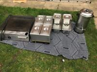 Bain Marie and extra containers