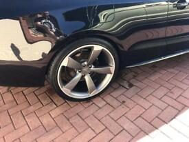 "Audi 20""rotor style deep concave alloy wheels x4"