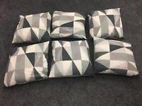 X6 modern cushions 18x18 inch