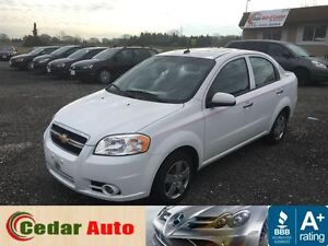 2011 Chevrolet Aveo LT -FREE WINTER TIRE PACKAGE