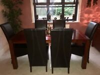 Baker and Stonehouse Solid wood Dinning set