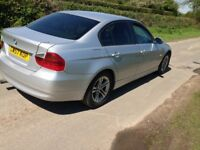 BMW 320D E90 E91 BREAKING ENGINE DOORS GEARBOX STARTER MOTOR ALTERNATOR INJECTOR BONNET BUMPER