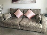 Fenwicks grey sofa
