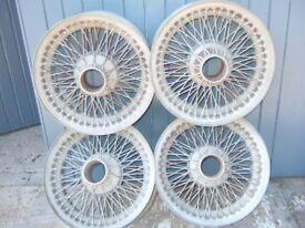 Jaguar Mk2 wire wheels