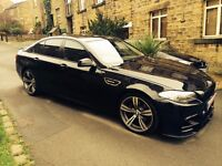 BMW 520D M, Black, All extras and upgrades, 230 BHP+