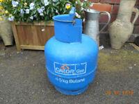 calor gas 4.5kg butane gas bottle *** full ***