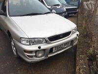 Subaru sport estate NO ENGINE or front LOOM