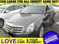 2011 Cadillac CTS 3.0L * L * LEATHER* POWER ROOF