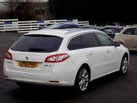 PEUGEOT 508 1.6 ACTIVE SW E-HDI FAP 5d 112 BHP (white) 2012