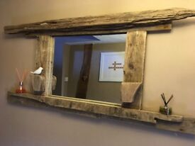 Mirror - driftwood
