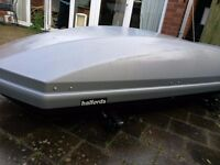 Large Roof Box (Halfords)