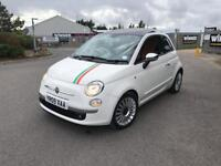 Fiat 500 Lounge, automatic, full service history, good condition