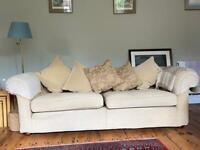 Beautiful Multi York very large sofa 7 ft long