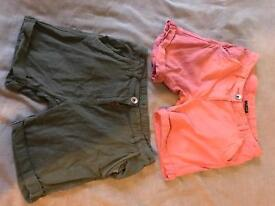 Next girls pack of 2 shorts age 9