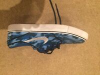 Nike Canvas Zoom Air Blue Camouflage Size 7