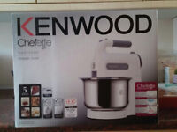 Kenwood HM680 Chefette Hand Mixer with Bowl