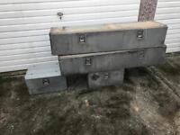 Van storage boxes