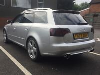 2007 AUDI A4 AVANT S LINE 2.0 TDI * 7 STAMPS inc CAMBELT * BOSE * LONG MOT * PART EX * DELIVERY *