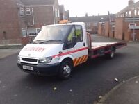 2006 ford transit 350 lwb recovery truck 115bhp,long m.o.t,16+ft body,slide away ramps,winch,bargain
