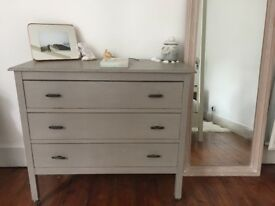Chest of Drawers & Side table. From Antique Shop