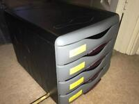 Desk Storage Drawer Unit