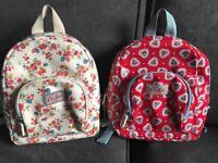 2 Girls Mini Cath Kids Backpacks