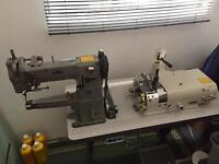 Adler 69 + Skiving machine - Industrial - Single Phase - Plug and Go