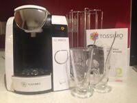 BoschTassimo Joy (Clear White) Brita Filter Coffee Machine