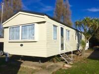 Cheap 3 bed RENTAL static caravan At seawick clacton Essex
