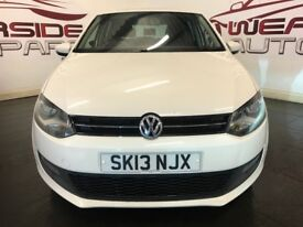 VOLKSWAGEN POLO 1.4 Match 5dr (white) 2013