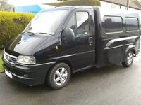 FIAT DUCATO 2.3 JTD RAZOR BACK VAN IDEAL MOTORCYCLE RECOVERY PIANO DELIVERY