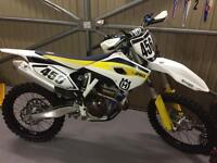 Husqvarna fc 250 2015 road registered motocross bike