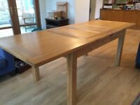 Premium Solid American Oak Dining Table (extendable from 1.5m > 2.3m)