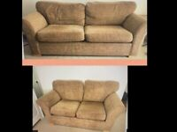 Two sofas 3+2 seaters very good clean condition could deliver