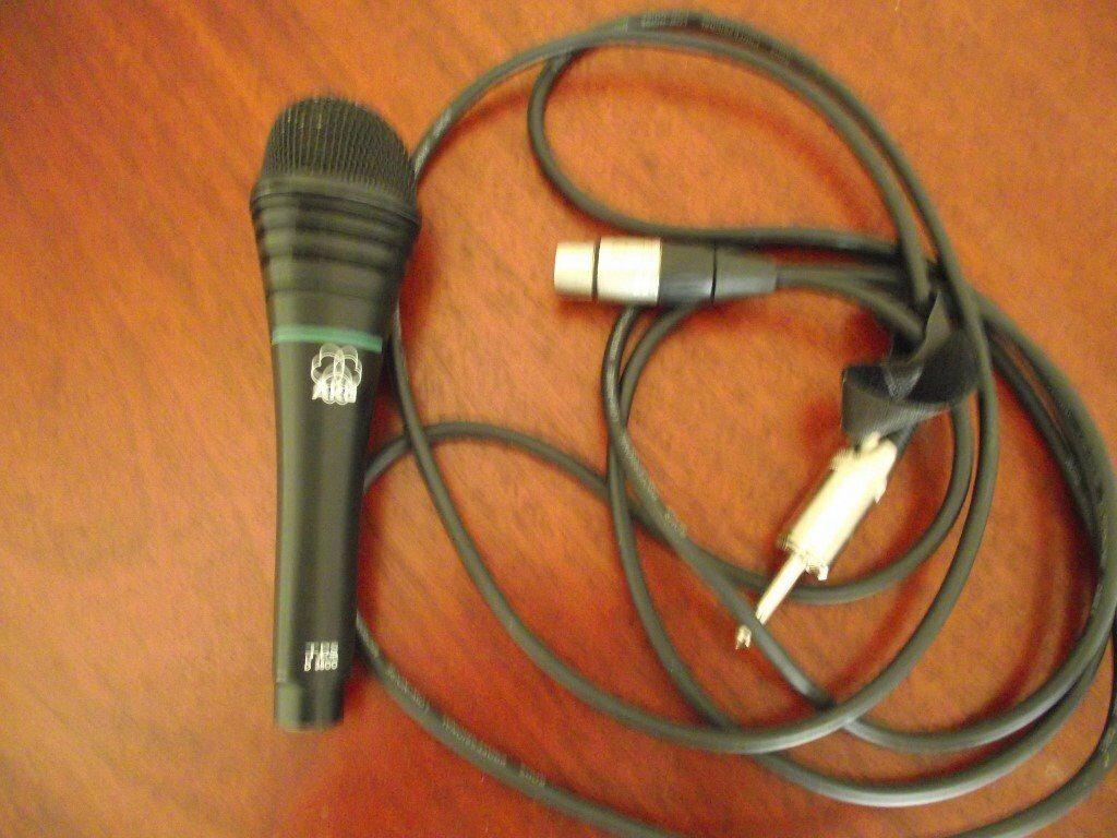 akg d3800 live microphone with leadin Southend on Sea, EssexGumtree - akg d3800 microphone with lead very powerful warm sound perfect working order sell with lead £39 buyer collects only phone 07908647718 no email