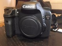 CANON 7D LIKE NEW (3600 SHUTTER COUNT)