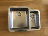 Franke Kubus left hand 1.5 bowl Stainless Steel Undermount sink