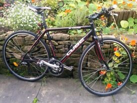 Cube SL Cross Comp Mens Hybrid Bike, 1 years use, 20 inch fr (2011 model been in storage since 2012)