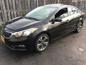 2014 Kia Forte SX, Automatic, Navigation, Leather, Sunroof