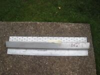 """Steel Window Lintel 1200 mm length to cover up to 3"""" wall cavity"""